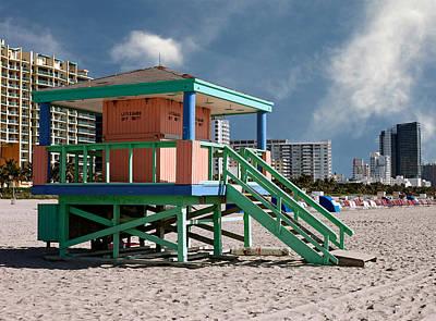 Photograph - Lifeguard Off Duty. Miami. Fl. Usa by Juan Carlos Ferro Duque