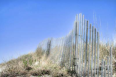 Sand Fences Photograph - Life's A Beach 2 by Sari Sauls
