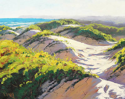 Surf Painting - Light Across by Graham Gercken