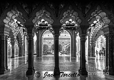 Art Print featuring the photograph Light And Symmetry by Jack Torcello