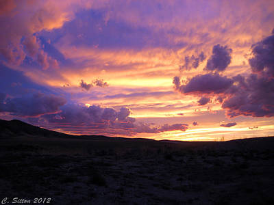 Photograph - Light At The End Of The Day by C Sitton