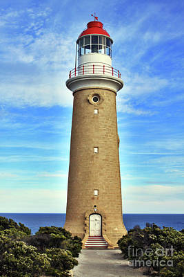 Light House At Cape Du Couedic Art Print