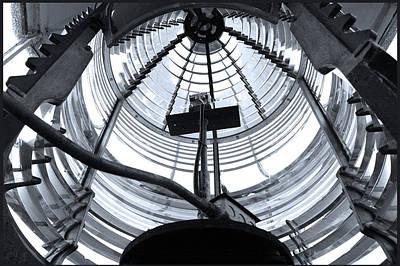 Vessel Photograph - Light House Mechanics by LeeAnn McLaneGoetz McLaneGoetzStudioLLCcom