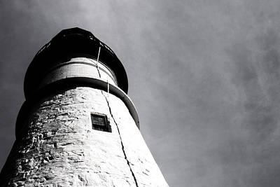 Photograph - Light House by Vintage Pix