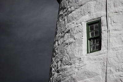 Light House Window Art Print by Vintage Pix
