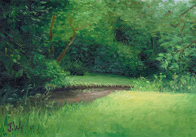 Painting - Light In August by Joe Winkler