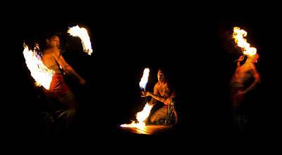 Firedancer Photograph - Light Of Fire by Li Ansefelt Thornton