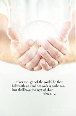 Creator Photograph - Light Of The World by Stephanie Frey