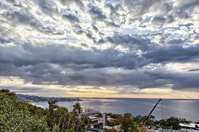 Photograph - Light Over La Jolla by Peter Dyke