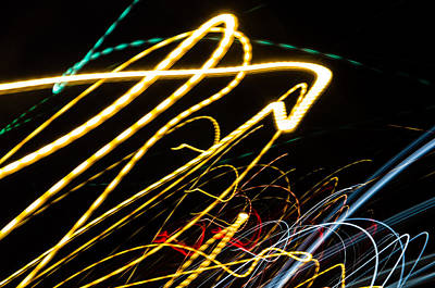 Photograph - Light Pulse 1 by Daniel Marcion