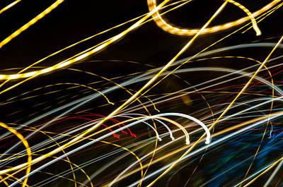 Photograph - Light Pulse 4 by Daniel Marcion
