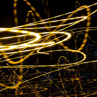 Photograph - Light Pulse 6 by Daniel Marcion