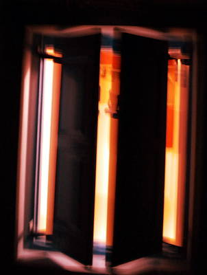 Art Print featuring the photograph Light Reflections by Colette V Hera  Guggenheim
