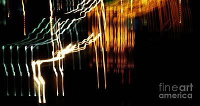 Motion Photograph - Light Sign by Rrrose Pix