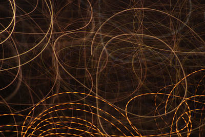 Photograph - Light Swirls by Cathie Douglas