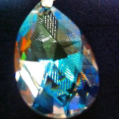 Jewelry Wall Art - Photograph - Light Through A Crystal Prism by Mladen Djumic