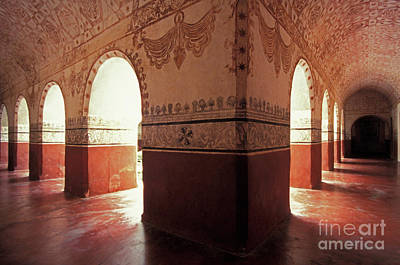 Art Print featuring the photograph Light Under The Arches Tepoztlan Mexico by John  Mitchell
