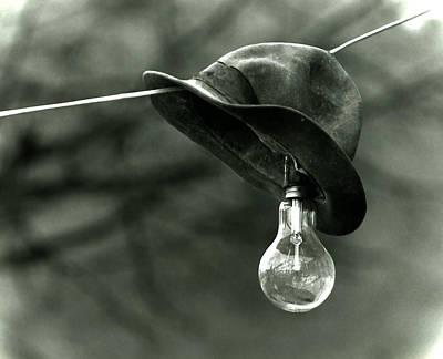 Lightbulb Art Print by Emanuel Tanjala