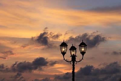 Lighted Sky Art Print by Michael Green
