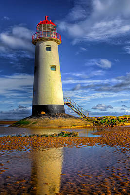 Tourism Digital Art - Lighthouse by Adrian Evans