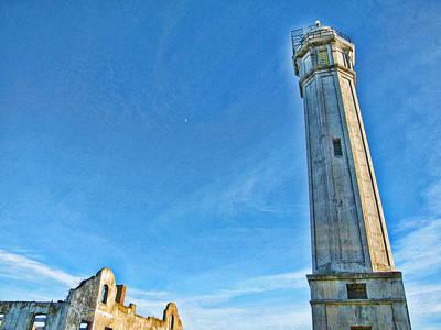 Lighthouse-alcatraz Art Print