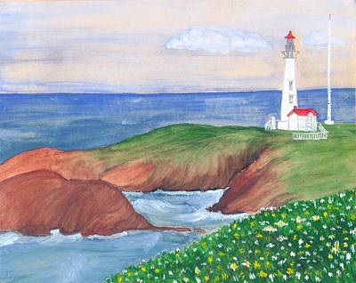 Painting - Lighthouse by Archana Saxena