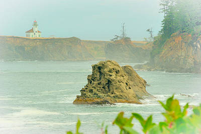 Photograph - Lighthouse At Coos Bay by Dale Stillman