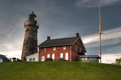 Photograph - Lighthouse At Fairport Harbor by At Lands End Photography