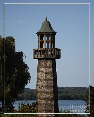 Photograph - Lighthouse At Lake Chautauqua by Rose Santuci-Sofranko