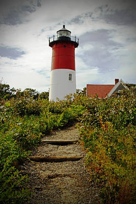 Photograph - Lighthouse At The Cape by Karol Livote