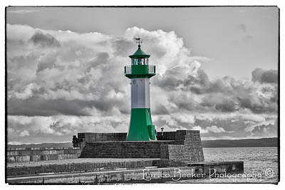 Lighthouse Baltic Sea Art Print by Enrico Becker