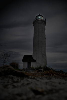 Photograph - Lighthouse Dusk by Emily Stauring