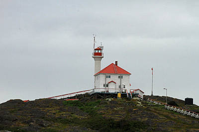 Photograph - Lighthouse In Canada by Ronald Olivier