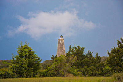 Light House Photograph - Lighthouse In The Distance by Betsy Knapp