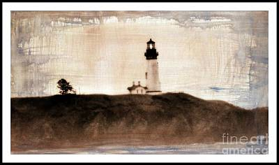 Lighthouse  Art Print by Irina Hays