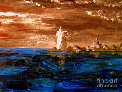 Painting - Lighthouse by Michael Canning