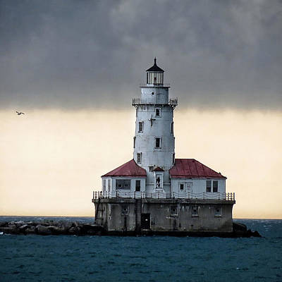 Art Print featuring the photograph Lighthouse by Nikki McInnes
