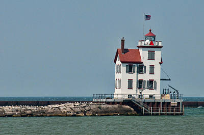 Photograph - Lighthouse Ohio by David Arment