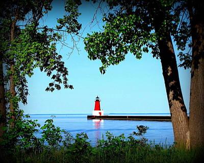 Photograph - Lighthouse Portrait by Ms Judi