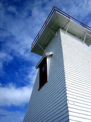 Photograph - Lighthouse Prince Edward Island by Ann Powell