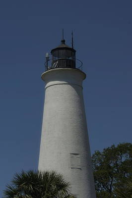 Anchor Down Royalty Free Images - Lighthouse St Marks Florida Royalty-Free Image by Paul Wilford