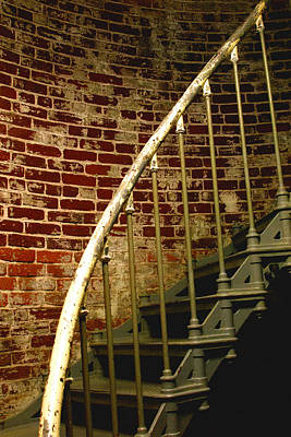 Photograph - Lighthouse  Stairs by William Meemken