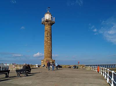 Photograph - Lighthouse by Steve Watson