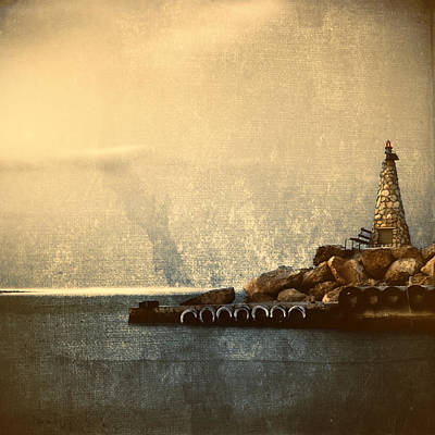 Peace Tower Wall Art - Photograph - Lighthouse by Stelios Kleanthous