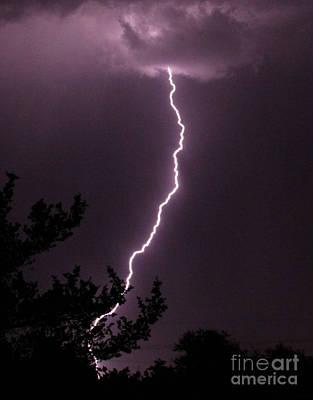 Photograph - Lightning 1 by Shawn Naranjo