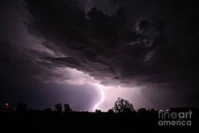 Photograph - Lightning 10 by Shawn Naranjo