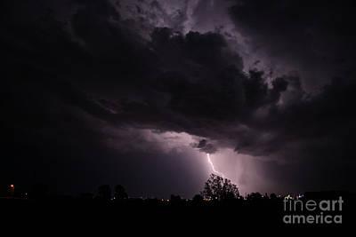 Photograph - Lightning 12 by Shawn Naranjo