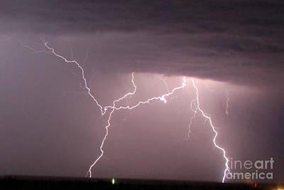 Photograph - Lightning 3 by Shawn Naranjo