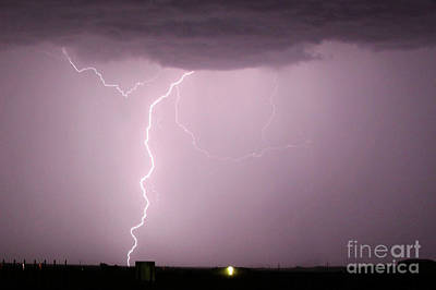 Photograph - Lightning 5 by Shawn Naranjo