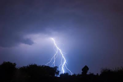 Lightning Photograph - Lightning Bolt by Marc Rossmann